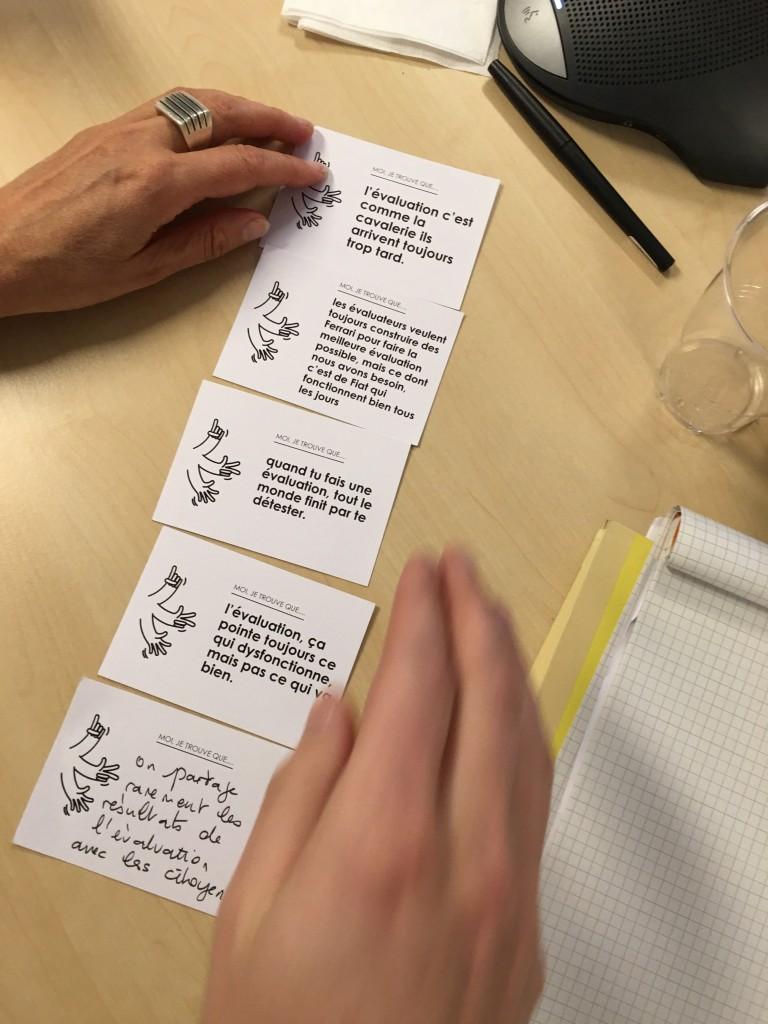 Evaluation projet de territoire, SDS Quadrant CGDD - 2 - jeu de cartes