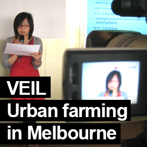 VEIL urban farming in Melbourne