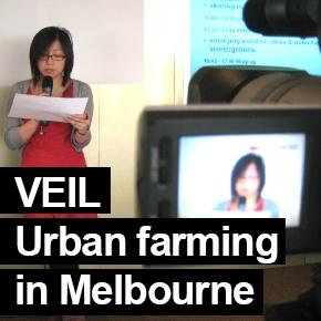 VEIL urban farming in Melbourne