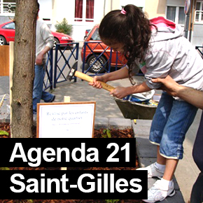 Agenda 21 Saint-Gilles / Citizen participation