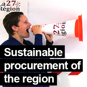 Sustainable procurement of the Rhône-Alpes Region