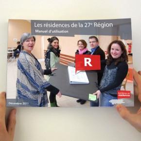 Les résidences de la 27e Région, Manuel d'utilisation