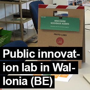 Public innovation lab SPW Wallonia