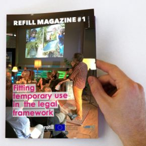 REFILL Magazine #1: Fitting temporary use in the legal framework