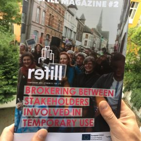 REFILL Magazine Issue #2: Brokering between stakeholders involved in temporary use