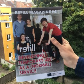 REFILL Magazine Issue #4: Developing temporary use as a (normal) service