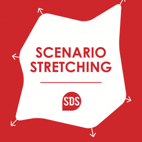 Scenario-stretching cards