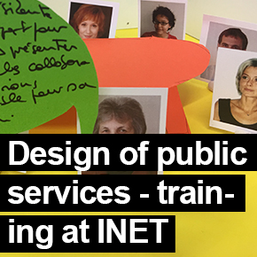 Design of public services at INET