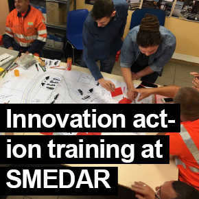 Innovation Action-based training at SMEDAR