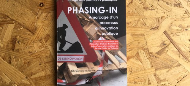 Phasing-in : Amorçage d'un processus d'innovation publique