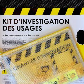 Kit d'investigation des usages