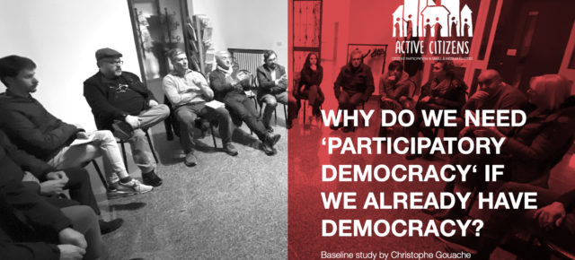 Do we need participatory democracy to save democracy?