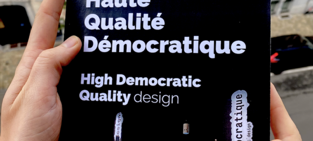 High democratic quality design / Design haute qualité démocratique